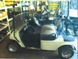 2003 EZGO 2 seater with golf pkg Electric Cart $3500