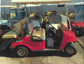 2007 Red FairPlay 2+2 Electric Cart $5500