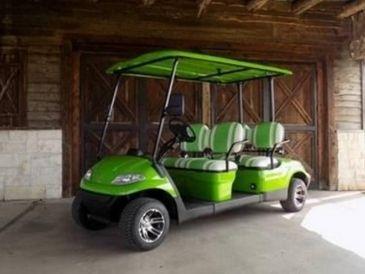 2021 Advanced EV 4 Passenger Forward Facing Electric Cart