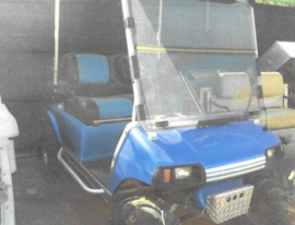 Club Car 2 Seater lifted