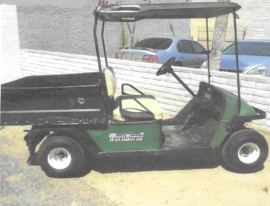 EZGO 1200 WorkHorse Gas