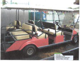 Red Club Car 4+2 $4800